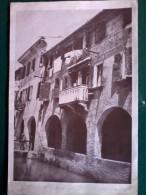 Vecchie Stampe - Terra Veneta - Treviso - Case Sul Canale Dei Buranelli Cm.24x17. - Materiale E Accessori