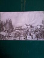 Vecchie Stampe -  Vicenza - Medaglia D´oro.-Esodo Dei Crociati, 11 Giugno 1848 - Album Degli Adam.cm.13,5x20. - Vecchi Documenti