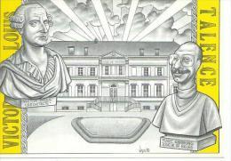 VICTOR LOUIS - TALENCE  ( Déssin: Bernard VEYRI - Tirage 500 Exemplaires ) - Veyri, Bernard