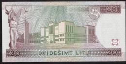 LITUANIA  P60  20  LITU  1997        UNC. - Lituanie