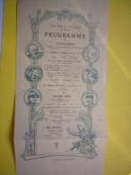 Programme Illustré Cercle Catholique Des étudiants 1905 Montpellier - Programmes