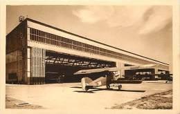 - Ref G553 - Aviation - Aerodrome  - Port Aerien De Bordeaux Merignac - Hangar Metallique N°1 Des Installations Civiles- - Vliegvelden