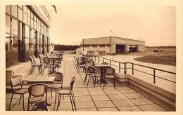 - Ref G549 - Aviation - Aerodrome  - Port Aerien De Bordeaux Merignac - Aerogare - La Terrasse Du Restaurant - - Aerodrome