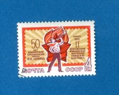 RUSSIE URSS ANNEE 1972 OBLITERE 2 SCANNE - Gebraucht