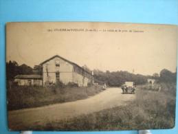 77 - Ozouer Le Voulgis - La Route Et Le Pont De Chaumes - 1933 - Other Municipalities