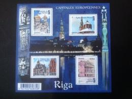 Tourisme Tourism FRANCE 2015 Capitales Européennes RIGA Neuf MNH - Monumenti