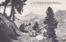 CHEMIN DE FER LAC D'ARTOUSTE ARCIZETTES VALLE DU SOUSSOUEOU - Eisenbahnen
