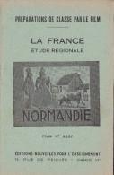 FILM FIXE EDUCATIF 35m/m avec son livret-g�ographie La France-Normandie