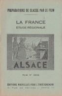 FILM FIXE EDUCATIF 35m/m avec son livret-g�ographie La France-Alsace