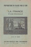FILM FIXE EDUCATIF 35m/m avec son livret-g�ographie La France-Nord(zone coti�re)