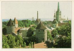 ESTONIA:  IL CASTELLO  DI TALLIN        (NUOVA CON DESCRIZIONE DEL SITO SUL RETRO) - Estonia