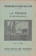 FILM FIXE EDUCATIF 35m/m avec son livret-g�ographie La France-R�gion Parisienne