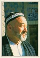 SAMARCANDA:  IMMAGINE  DI UN  MUSSULMANO          (NUOVA CON DESCRIZIONE DEL SITO SUL RETRO) - Uzbekistan