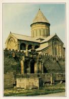 GEORGIA  MSKHETA:   LA  CHIESA          (NUOVA CON DESCRIZIONE DEL SITO SUL RETRO) - Georgia