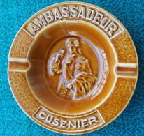 Cendrier AMBASSADEUR CUSENIER estampill� LONGCHAMP France