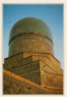 UZBEKISTAN: SAMARCANDA: LA TOMBA DI CHAKH IZINDA       (NUOVA CON DESCRIZIONE DEL SITO SUL RETRO) - Uzbekistan