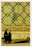 """UZBEKISTAN: SAMARCANDA: LA """"MADRASA""""       (NUOVA CON DESCRIZIONE DEL SITO SUL RETRO) - Uzbekistan"""