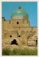 UZBEKISTAN:  KHIVA:  LA NECROPOLI      (NUOVA CON DESCRIZIONE DEL SITO SUL RETRO) - Uzbekistán