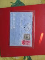 31.9.1939 GEMELLI 50 Cent. Libia + 50 Cent. Tripolitania Sovr.LIBIA POsta Aerea Timbro Arrivo - Libia