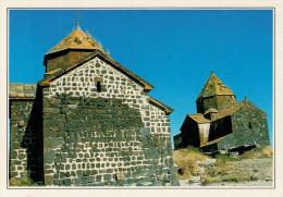 ARMENIA:  CHIESA  SUL  LAGO  SEVAN      (NUOVA CON DESCRIZIONE DEL SITO SUL RETRO) - Armenia