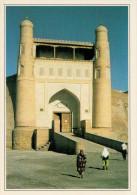 UZBEKISTAN  BUHARA:  LA  FORTEZZA     (NUOVA CON DESCRIZIONE DEL SITO SUL RETRO) - Uzbekistán