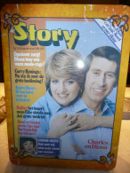 METALEN DOOS :UITGEGEVEN DOOR STORY BIJ NR 51-18/12/1981 MET VOORAAN CHARLES EN DIANA - Dozen