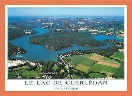 A437/375 22 - CAUREL MUR DE BRETAGNE Lac De Guerledan - France
