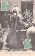 1909. CARTE INDOCHINE HANOI POUR   RENNES. ANNAMITE DE 103 ANS / 6007 - Indochina (1889-1945)