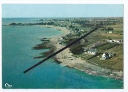 CPM -  Loctudy - Vue Aérienne - Plage De Kergall-Plage De Kervilzic Et Pointe De Kerafédé - Loctudy