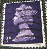 Great Britain 1967 Queen Elizabeth II 3d - Used - 1952-.... (Elizabeth II)