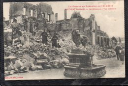 LA GUERRE 1914-1915 EN LORRAINE 54 BACCARAT BOMBARDE PAR LES ALLEMANDS ANIMEE - Baccarat