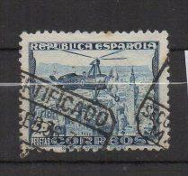 M041..-.SPAIN/ESPAÑA.. -. 1935-39.-. SC#: C72A  .-. USED .-. AUTOGIRO - 1889-1931 Royaume: Alphonse XIII