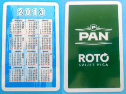 PAN BEER ( Croatian Small Calendar ) Petit Calendrier Calendario Kalender * Bière Bier Cerveza Birra - Calendars