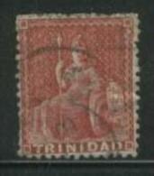 TRINIDAD 1862 1d Lake Britannia SG68 U BQ32 - Trinidad & Tobago (...-1961)