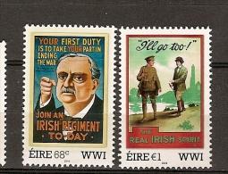 Irlanda ** & 1ª Guerra Mundial 2011 (2102) - 1949-... Repubblica D'Irlanda