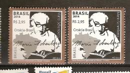 Brazil ** & Serie Relações Diplomáticas, Brasil Croácia 2014 - Brazil
