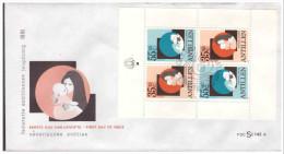 Antillen / Antilles 1981 FDC Se 142a Childwelfare Cat S/S - Curaçao, Antilles Neérlandaises, Aruba