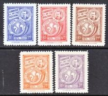 Bolivia   331-3, C 125-7    * - Bolivia