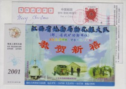 Mineral Exploration,plugging On Hydropower Dam Leakage,CN 01 Geophysical And Geochemical Exploration PSC - Minerals