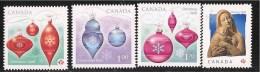CANADA 2010, 2412i-3i-4i-5i.   DIE CUT  CHRISTMAS ORNAMENTS   THREE RATES MNH - Carnets