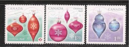 CANADA 2010, 2413i-4i-5i.   DIE CUT  CHRISTMAS ORNAMENTS   THREE RATES MNH - Carnets