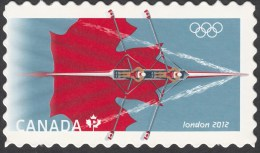 CANADA, 2012, # 2556i,  LONDON OLYMPIC GAMES,  SINGLE  MNH DIE CUT - Carnets
