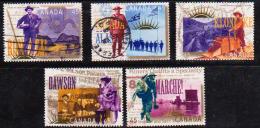 Canada 1996 N°Y.T. : 1463 à 1467 Obl. - Usados