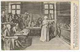 CPA DESSIN MARIE-ANTOINETTE DEVANT LE TRIBUNAL - Pintura & Cuadros
