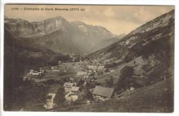 CPA CHAMPERY (Suisse-Valais) - Champéry Et Dents Blanches 2774 M - VS Valais