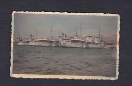 Photo Originale - Bateau De Guerre - Toulon - Contre Torpilleurs  -  1936 - Boats