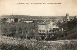 CPA - OUDON (44) - Vue Sur Le Bourg , Prise Des Côteaux Du Hâvre - Oudon