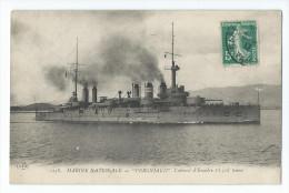 "Cuirassé D´Escadre - ""Vergniaud"" - Warships"