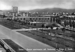 """01627 """"TORINO - SCORCIO PANORAMICO DEL VALENTINO DI BORGO S. PAOLO""""   PARCO RUFFINI. CART. ORIG. NON SPEDITA - Parcs & Jardins"""