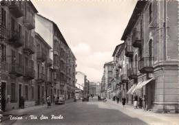 "01631 ""TORINO - VIA SAN PAOLO"" ANIMATA, AUTO ´50/60 CART. ORIG. NON SPEDITA - Italie"